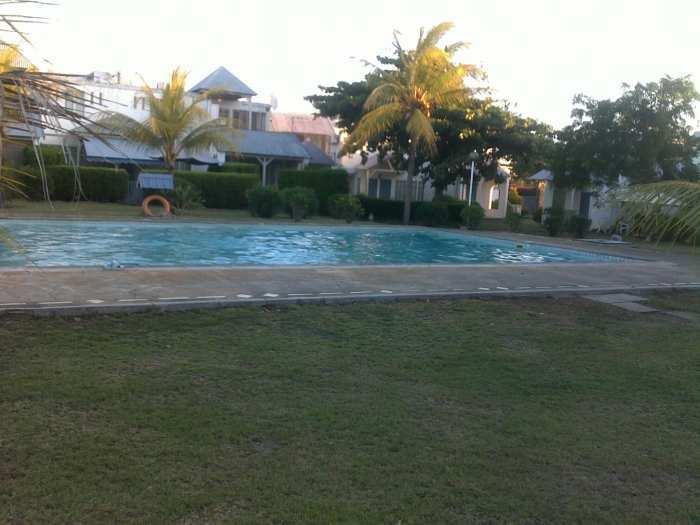 Appartement en plein centre de Grandbay avec 2 piscine et tennis court