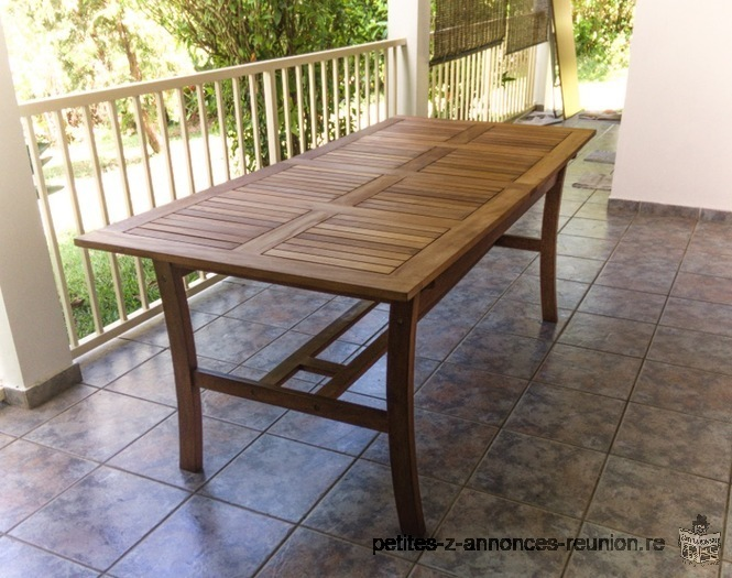 Petite Annonce Belle Table Bois Ouest De La R Union Meubles Ameublement Mobilier Maison