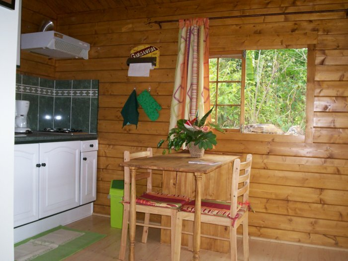 Charmant bungalow en bois pour 2 personnes
