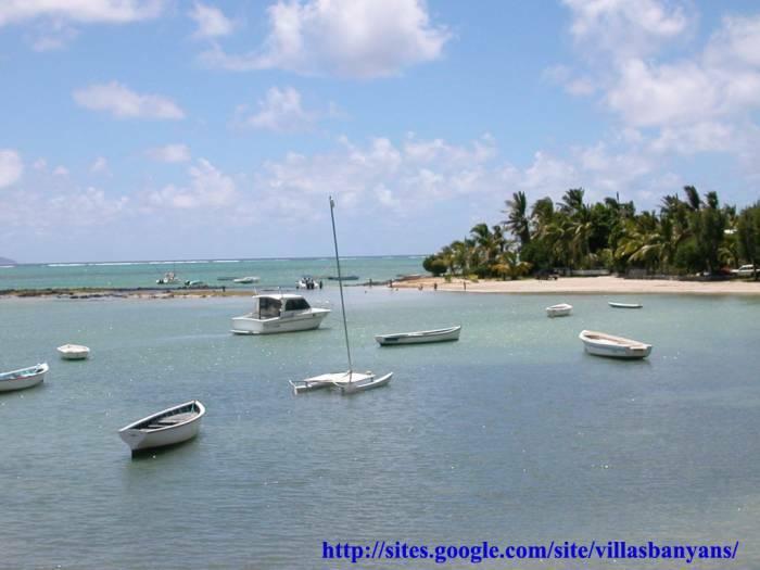 Villa Banyan: pieds dans l'eau à l'Ile Maurice