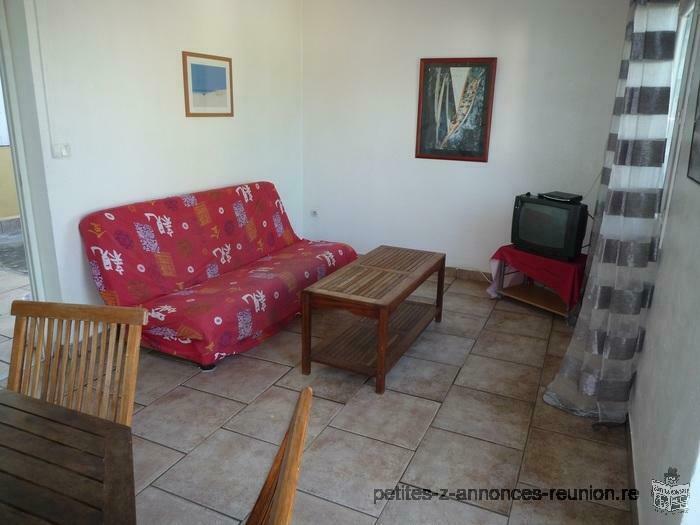 st louis,maison F3 meublée,2 chambres,750€/mois eau+EDF compris