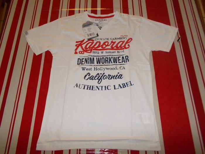 t-shirt ou polo Kaporal 12 ans neufs