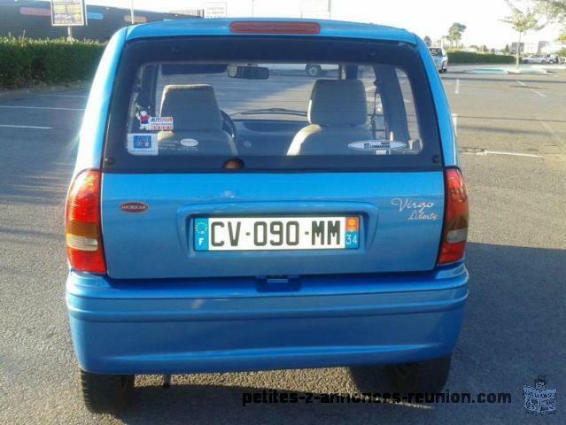 voiture sans permis Microcar Virgo